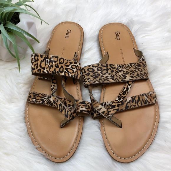 16049547e GAP Shoes -  10 CLOSET SALE❗️Gap Animal Print Sandals Cheetah